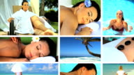 Montage of Massage, Yoga & Relaxation video