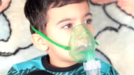 Montage: Procedure Inhalation of child video