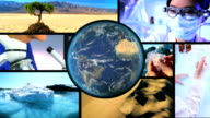 Montage Scientific Research Global Warming video
