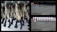 montage soldier video