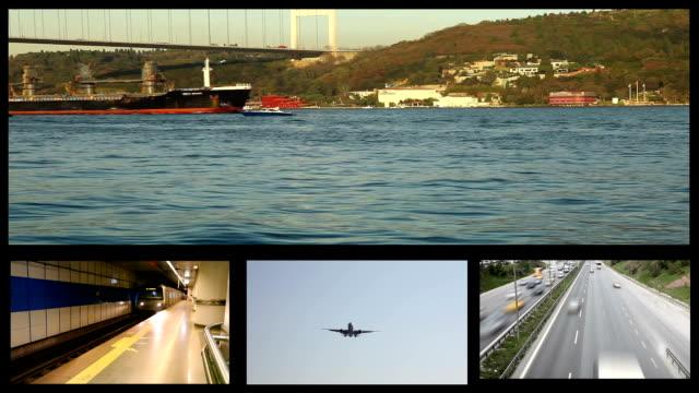 montage transport video
