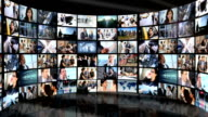 Montage Wall Multiple Panels Business People video