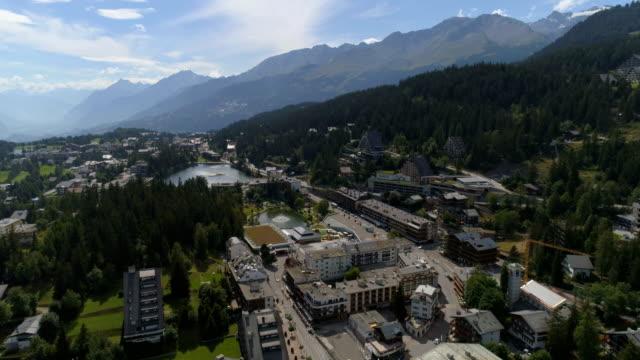 Montana frontal traveling, summer - Aerial 4K - Phantom 4 PRO video