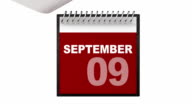 Monthly Calendar video