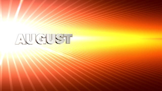 Months July-December Zoom Red Yellow video