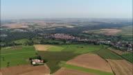 Montreuil  - Aerial View - Nord-Pas-de-Calais, Pas-de-Calais, Arrondissement de Montreuil, France video
