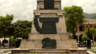 Monument honouring General Sucre video