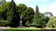 Monument to Jan Kilinskii in Lviv (Ukraine) video