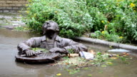 Monument to the plumber. video