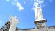 Monument to the princess Olga, Kiev, Ukraine. video