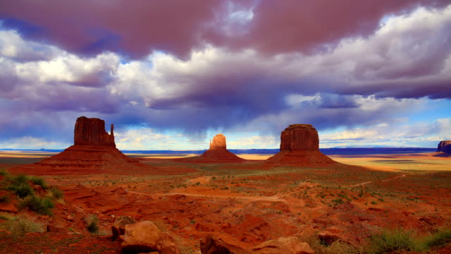 Monument Valley, UT-AZ video