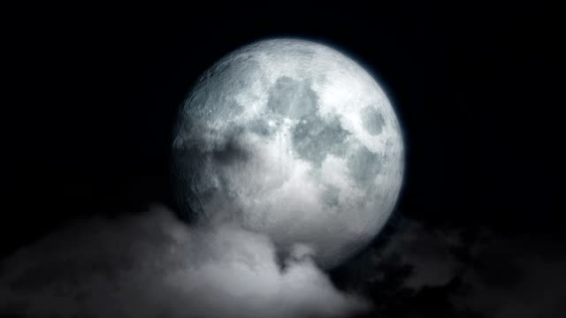 Moon and Cloud video