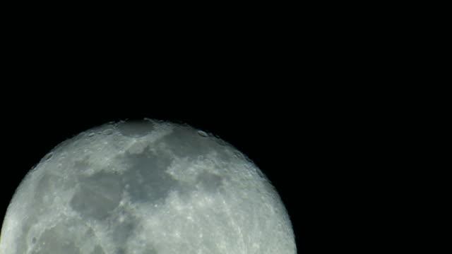 moon - close up video