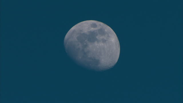Moon close-up in HD video