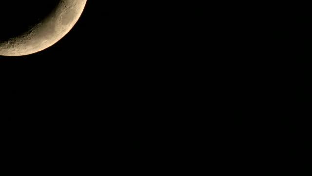 Moon motion video