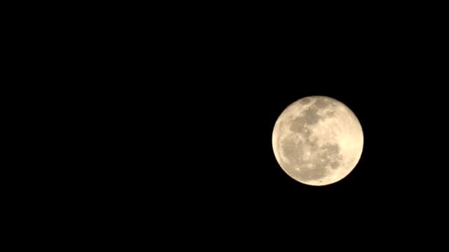 Moon rising video