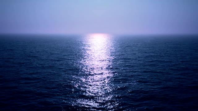 moonlight at sea video
