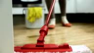 HD: Mopping The Hardwood Floor video