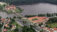 Moritzburg Palace - Aerial View - Saxony,  helicopter filming,  aerial video,  cineflex,  establishing shot,  Germany video