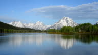 Morning at the Oxbow in Teton National Park video
