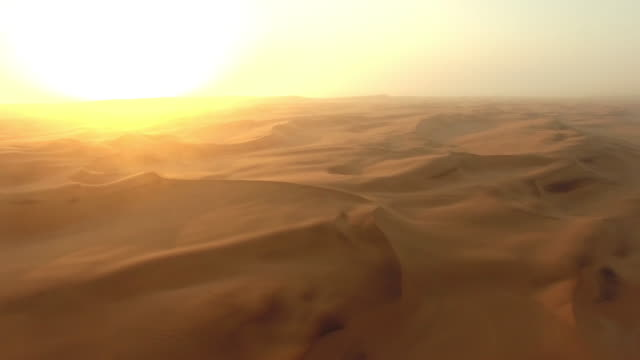 Morning comes to the Namibian Desert video