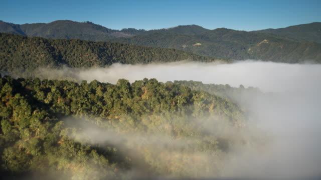 Morning Fog in Carmel Valley - Time Lapse video