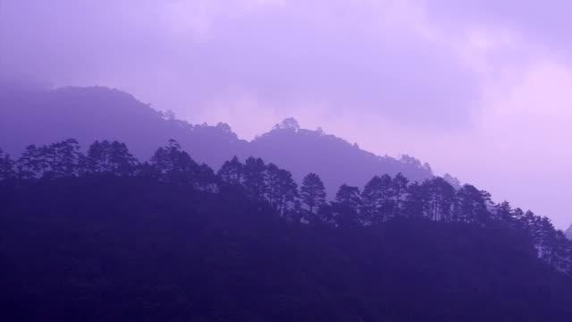 Morning hill video