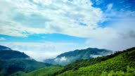 Morning mountains at north thailand video