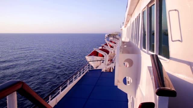 Morning on the passenger ship video