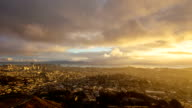 Morning San Francsico Time Lapse video