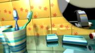 morning toilet video