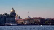 Morning Views of St. Petersburg video