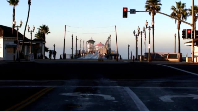 Morning Walk on the Huntington Beach Pier video