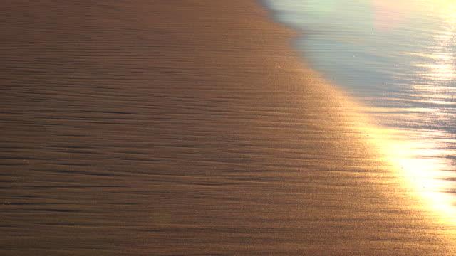 Morning wave at dawn video