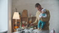 Morning with a Baby video