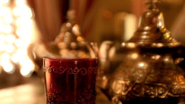 Moroccan or arabic  tea video