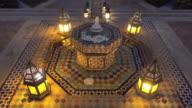 Morocco fountain video