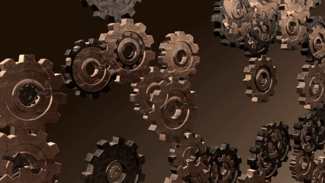 Morphing Looping Gears video