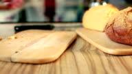 Mortadella Sandwich With Corn Bread video