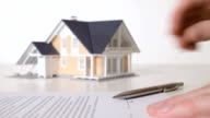 Mortgage contract sign video