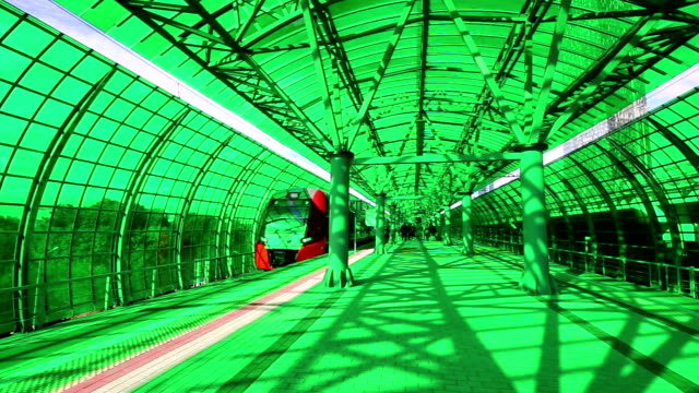 Moscow Central Circle - Little Ring, MCC,or MK MZD, is a 54.4-kilometre-long orbitalrailway.Russia. Opened 10 September 2016. Delovoy Tsentr  railway station video