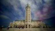 Mosque of Hassan II in Casablanca video
