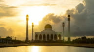 Mosque Sunset video