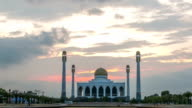 Mosque Timelapse video