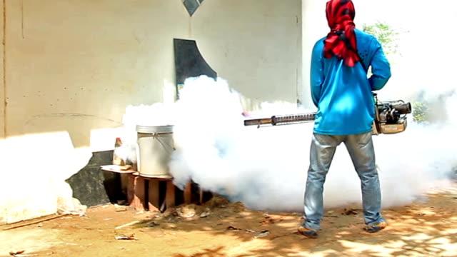 Mosquito Fumigation video
