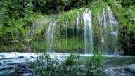 Mossbrae Falls and Sacramento River (pan) video