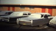 (8mm Vintage) 1974 Motel Living Homeless Cleaning Car For Money video