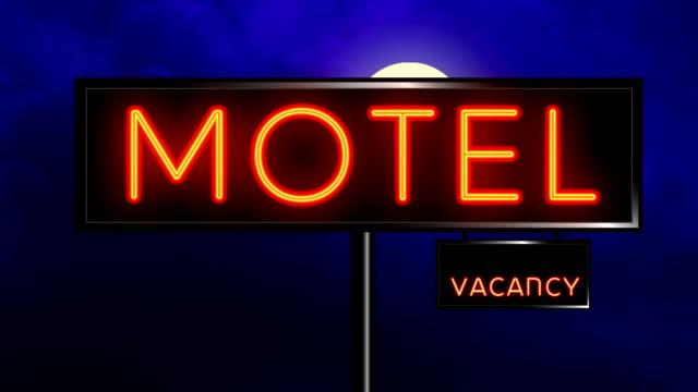 Motel Sign video