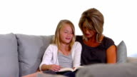 Mother and Daughter Reading Together video