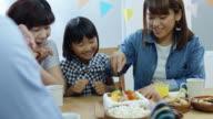Mother Cutting Birthday Cake video